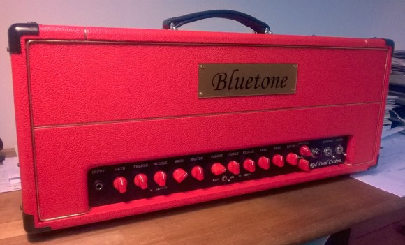 Bluetone Red Devil Custom Head red tolex 18.8.2015