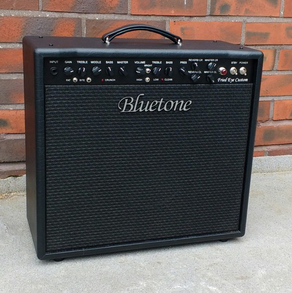 Bluetone Fried Eye Custom combo Mesa black tolex Front 22.7.2016