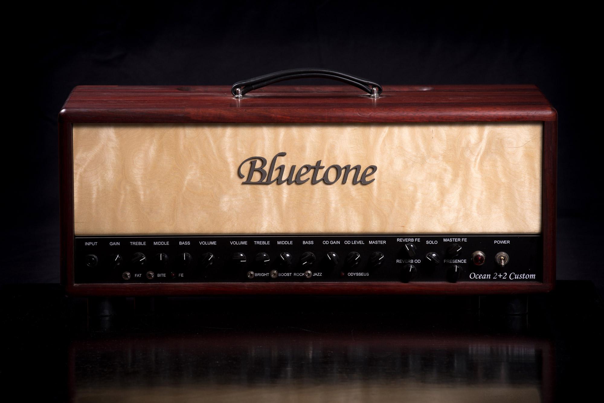 Ocean 2+2 Reverb – Bluetone Custom Amplifiers