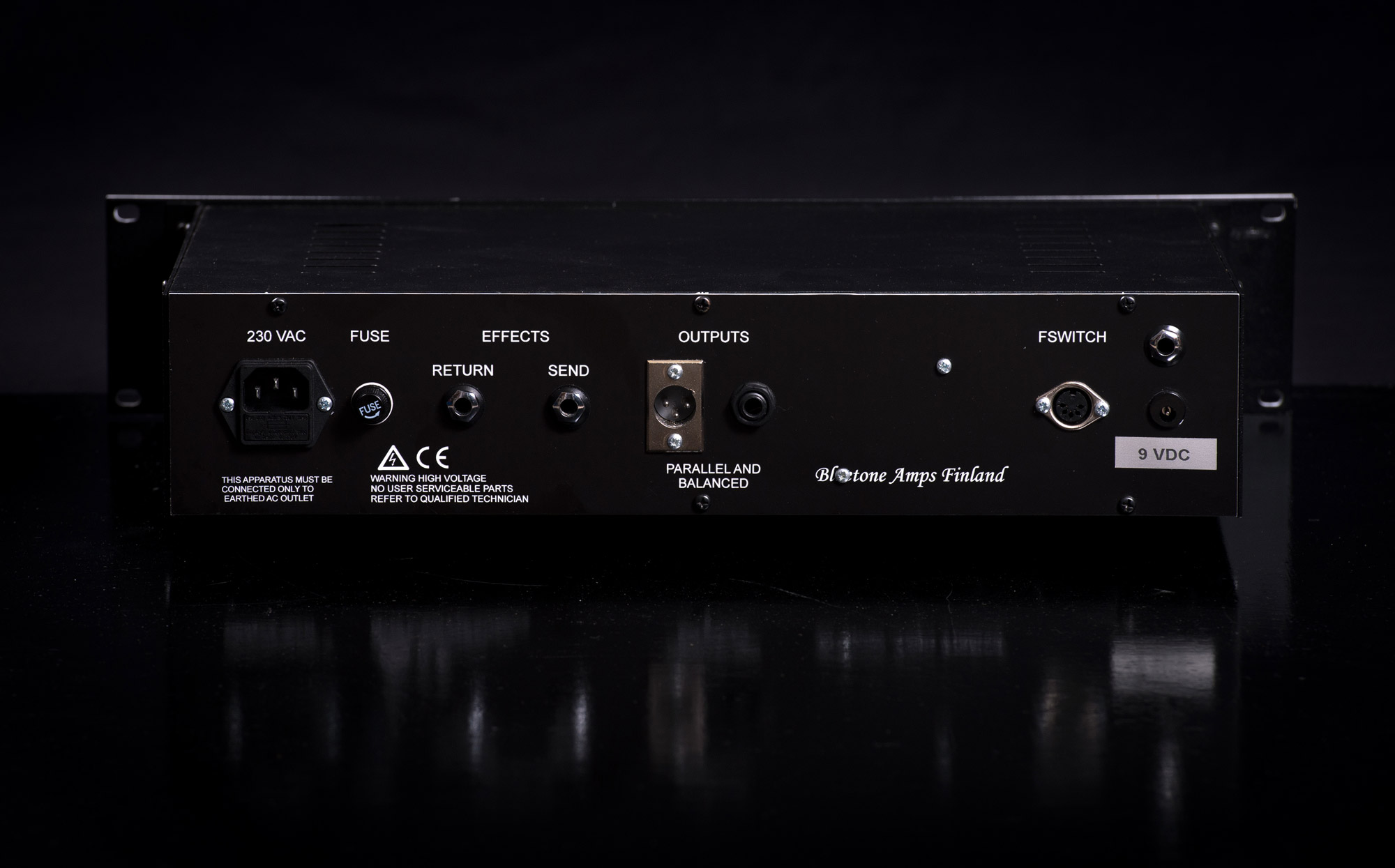Rack Tube Preamp Bluetone Custom Amplifiers Band 2 Preamplifier Is A True 3 Channel 2u Mounted Amp With Balanced Outputs Its All Functions Like Changing Etc Are Midi Controlled Either