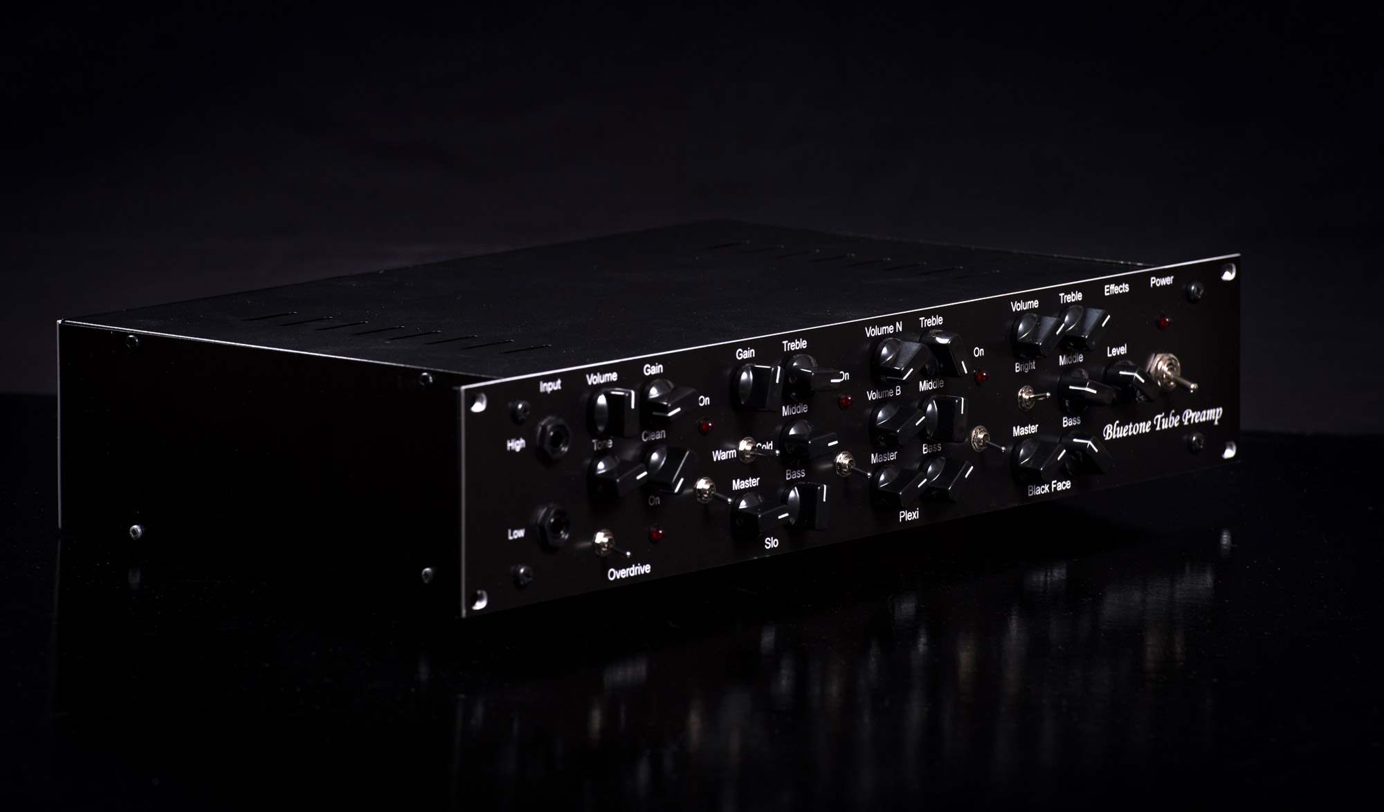 Rack Tube Preamp Bluetone Custom Amplifiers Band 2 Preamplifier